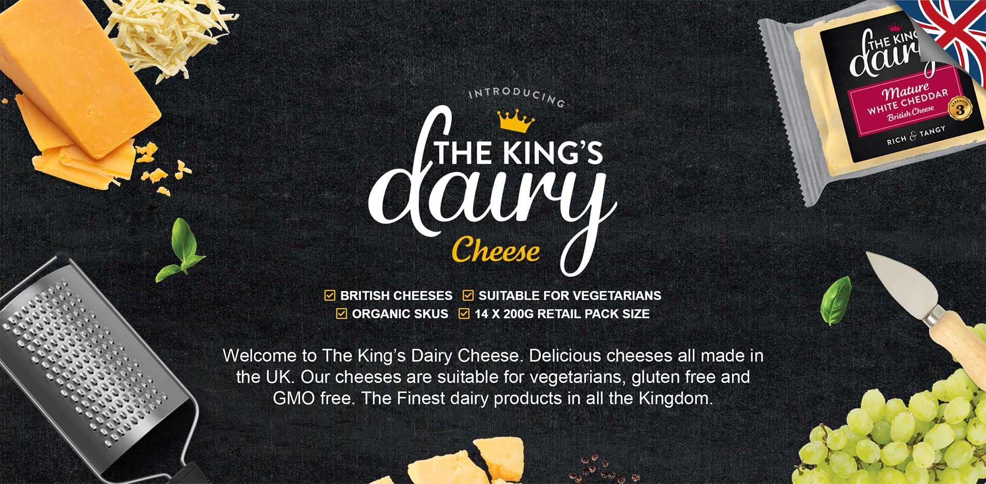 The King's Dairy Cheese and Yogurts