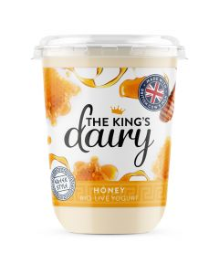 The King's Dairy Honey Greek Style Yogurt 450g