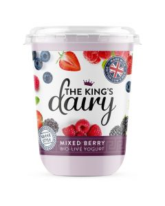 The King's Dairy Mixed Berry Greek Style Yogurt 450g