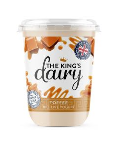 The King's Dairy Toffee Greek Style Yogurt 450g
