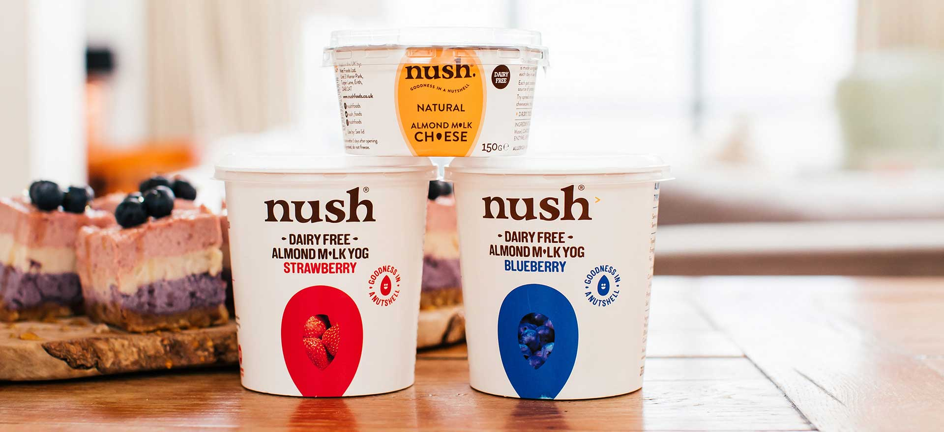 NUSH Vegan Yogurts and Cheese