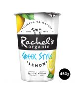 Rachel's Organic Greek Style Yogurt With Lemon 450g