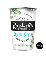 Rachel's Organic Greek Style Low Fat Natural Yogurt 450g