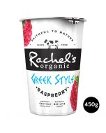Rachel's Organic Greek Style Yogurt With Raspberry 450g