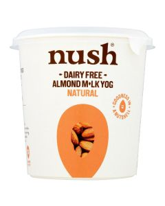 Nush Natural Vegan Almond Milk Dairy Free Yoghurt 350g