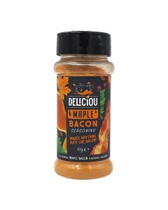 Deliciou Vegan Bacon Seasoning Maple Gluten Free and Kosher Certified