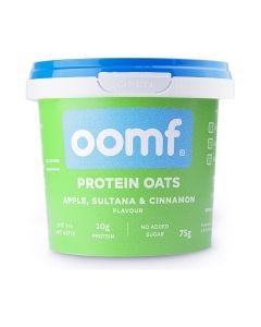 Oomf Protein Oats Apple Sultana and Cinnamon 75g