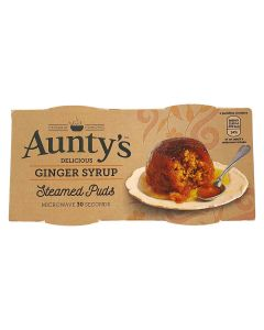 Aunty's Ginger Pudding 2x95g