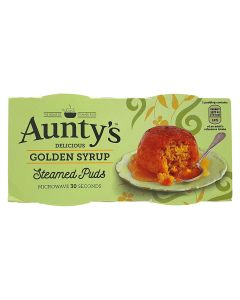 Aunty's Golden Syrup Pudding 2x95g