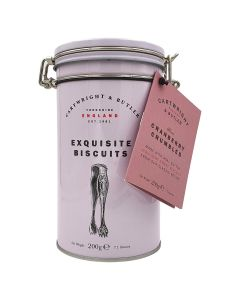 Cartwright & Butler Cranberry Crumbles Tin 200g