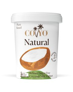 COYO Dairy Free Organic Natural Coconut Milk Yogurt 500g