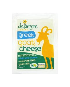 Delamere Dairy Greek Goats Cheese 200g