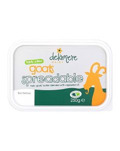Delamere Dairy Spreadable Goats' Butter 250g