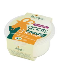 Delamere Dairy Spreadable Goats Cheese Spread 125g