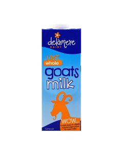 Delamere Dairy UHT Whole Goats Milk 1L