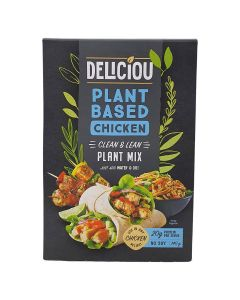 Deliciou Vegan Plant Based Chicken Mix Soy Free 140g