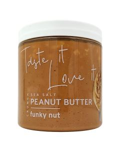 Funky Nut Sea Salt Crunchy Peanut Butter 265g