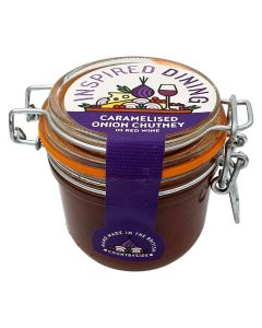 Inspired Dining Caramelised Onion And Red Wine Chutney 230g