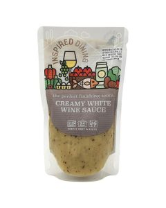 Inspired Dining Classic White Wine Sauce 200g