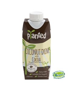 Planted Vegan Coconut with Cocoa Dairy Free Drink 330ml