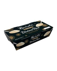Rachel's Organic Twin Traditional Creamy Rice Pudding Twinpack 150g x 2