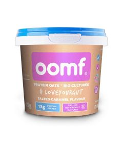 Oomf Probiotic Protein Oats Salted Caramel 65g