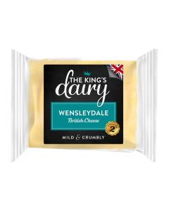 The King's Dairy Wensleydale Cheese 200g
